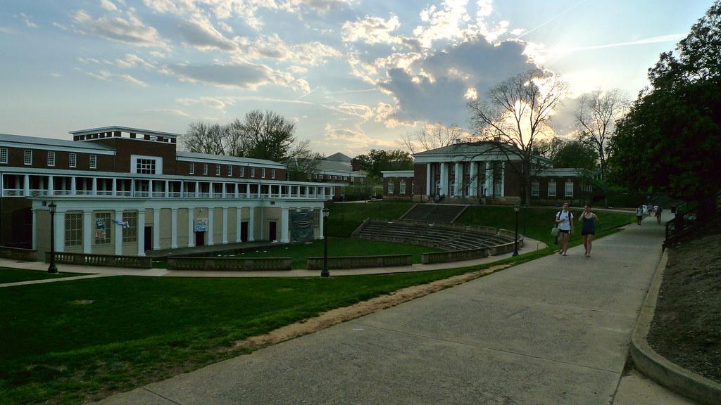 University Of Virgina  Design By Thomas Jefferson, The -4994