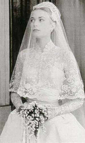 Grace Kelly Veil Wedding