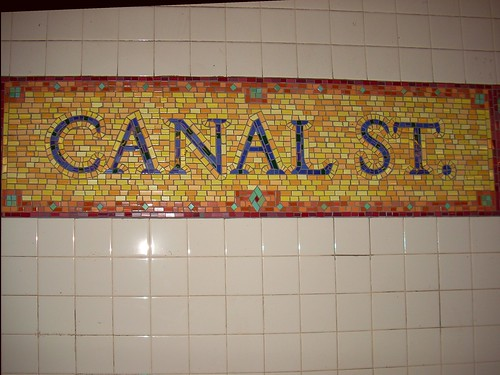 Canal Street Station Mosiac | by Lisanne!