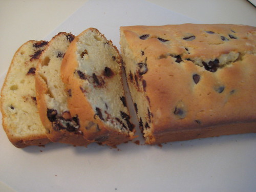 Paul's Chocolate Chip Sour Cream Pound Cake | by NoshWithMe