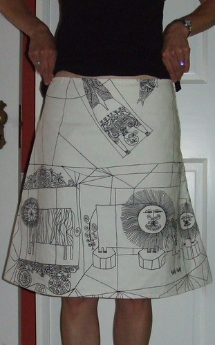 a line skirt from sew what skirts flickr photo