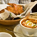 Tortilla Soup and Soy Battered Hell Fish