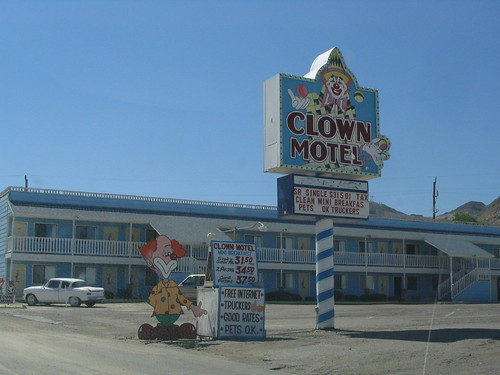 Clown Motel, Tonopah, Nevada | by Ken Lund