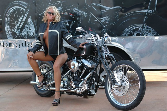 The Lost Photographs Of Brass Balls Biker Chick Megan
