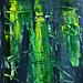Abstract Art Watercolor - Bleeding Dreams