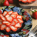strawberry chocolate tartlets