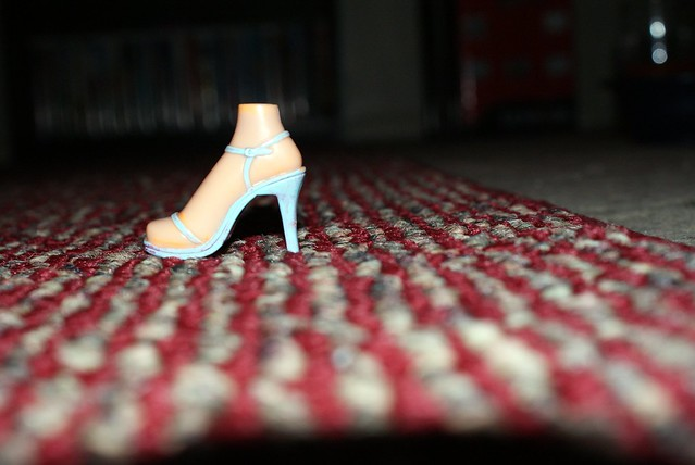 Cinderella Lost Her Shoe As Well As Her Foot