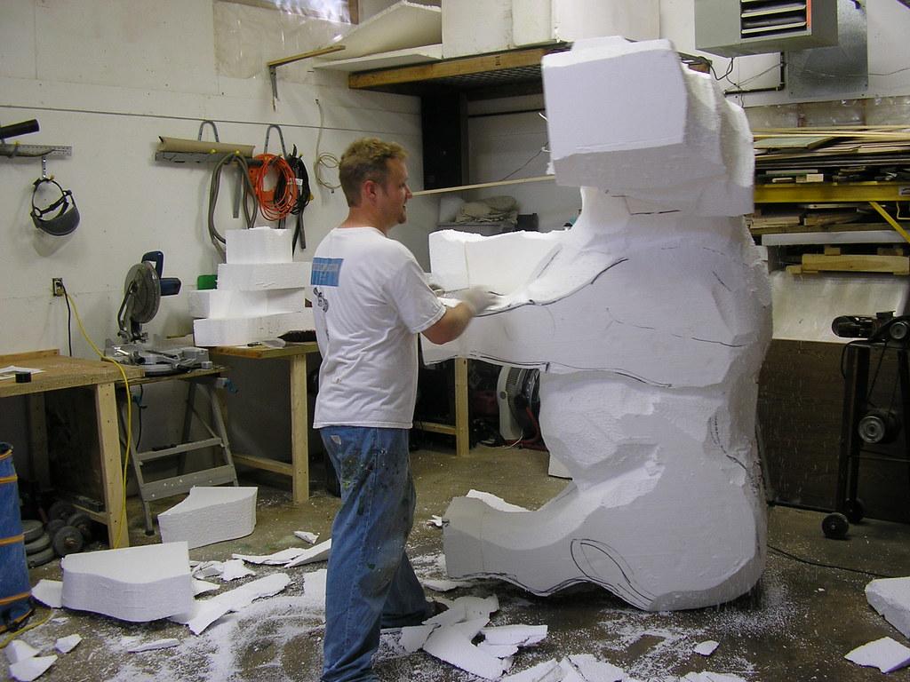 Foam sculpture avalonsculpture flickr
