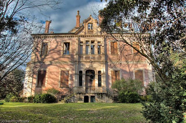 Maison de ma tre ondes haute garonne 1 superbe for Architecture maison de maitre