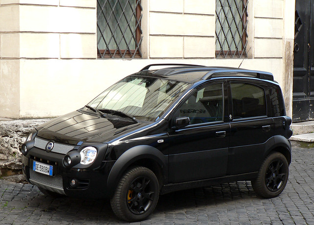 fiat panda monster 4x4 in rome yanfuano flickr. Black Bedroom Furniture Sets. Home Design Ideas
