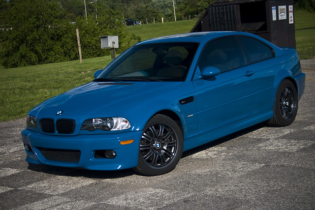 2001 BMW M3 | 2001 BMW M3 in Laguna Seca Blue with powdercoa… | Flickr