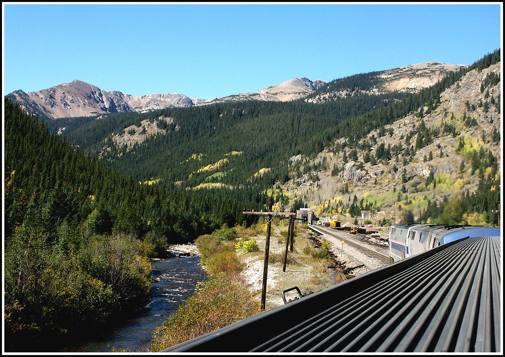 Approach To Moffat Tunnel On The California Zephyr Flickr