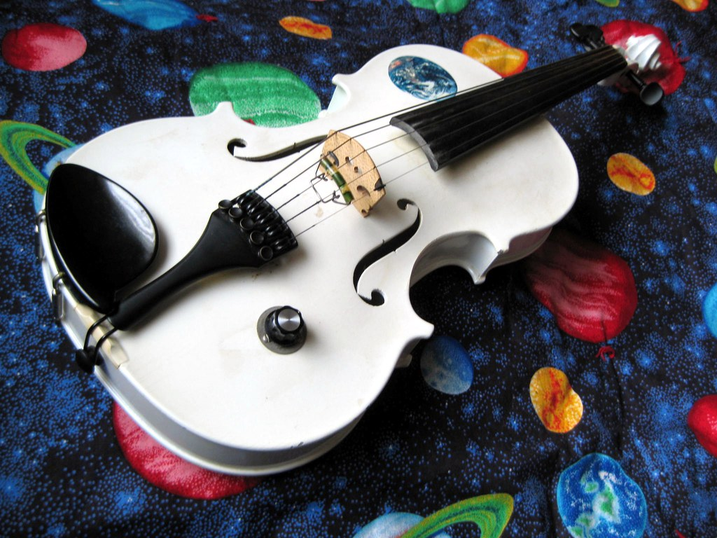 vintage 5-string electric violin | I play this 1980 Barcus ...
