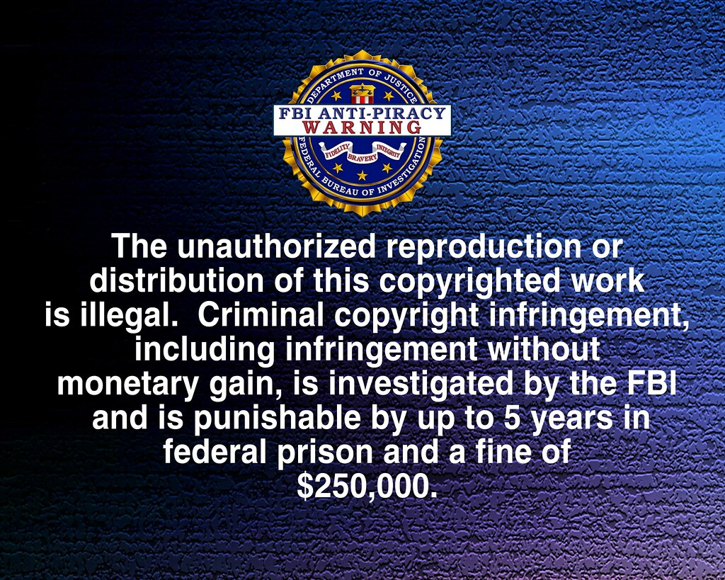Fbi Warning Us Home Video Anti Piracy Warning Happy