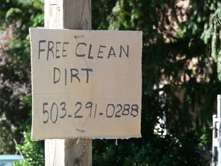 This is broken: Free Clean Dirt | by betterbethany