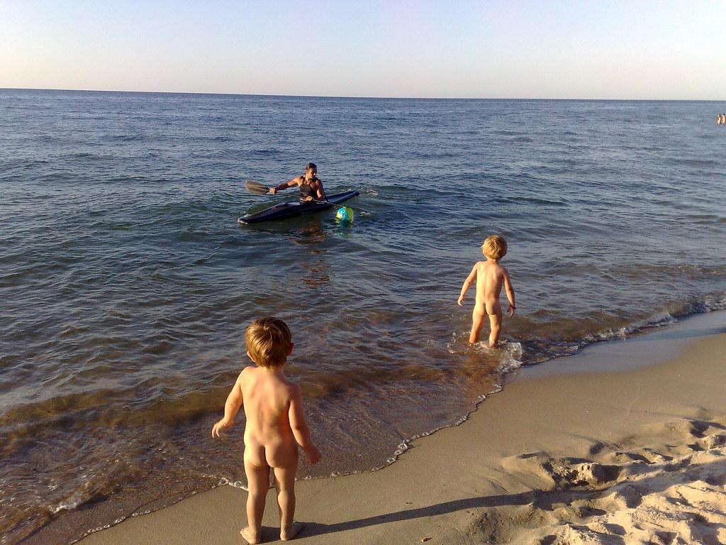 En la playa - 1 7