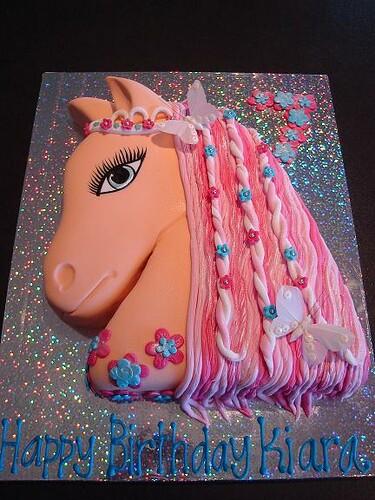 Horse Cake Kiara Loves Horses Julie Flickr