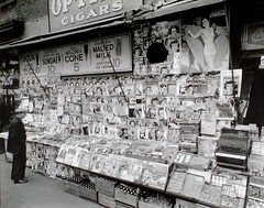 Newsstand, 32nd Street and Third Avenue, Manhattan. | by New York Public Library