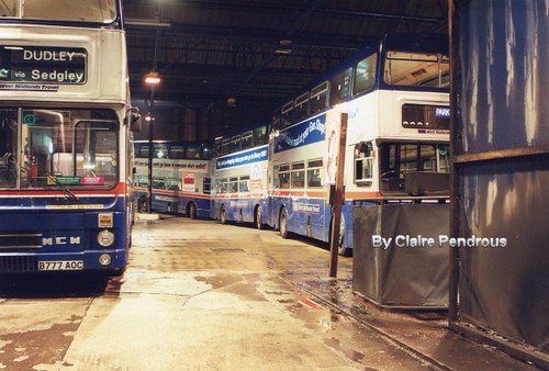 Park Road Garage >> The last night of bus operations from Cleveland Road Garag… | Flickr