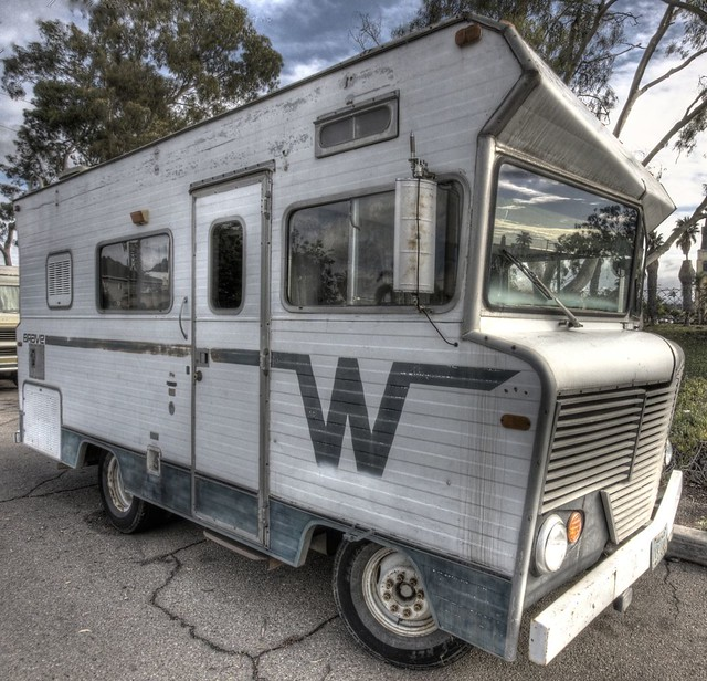 Winnebago Brave (or Indian) RV from the mid-1970's - in Sh ...