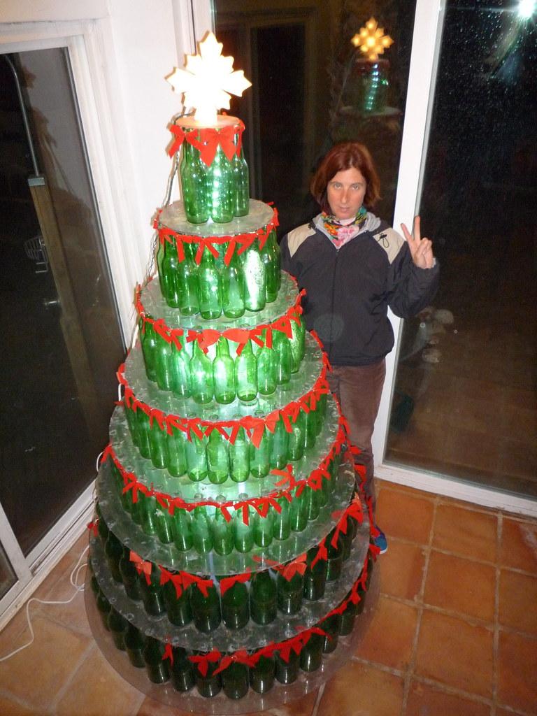 Beer Bottle Christmas Tree   Beer Bottle Christmas Tree   Flickr