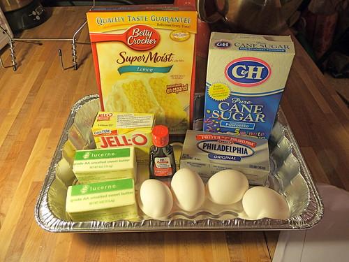 Paula Deen Ooey Gooey Lemon Cake
