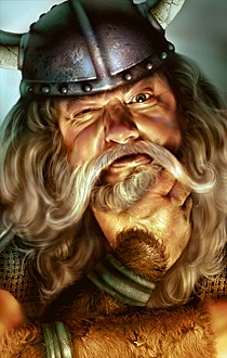 Viking Earl by ArtDeepMind.deviantart.com on @DeviantArt ... |Dwarf Male Portrait