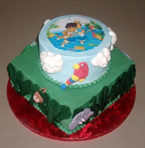 Custom Printed Cake Round Cardboard Flats