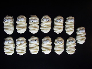 Nutter Butter Mummies | by death by cupcake