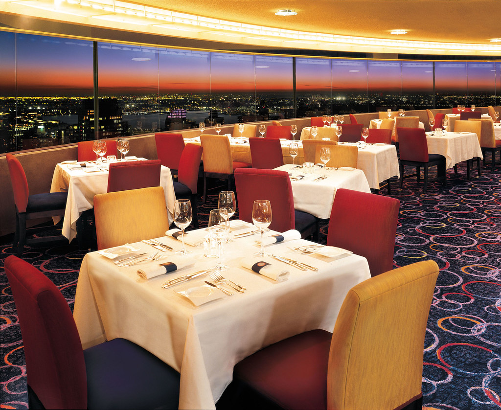 New York Marriott Revolving Restaurant