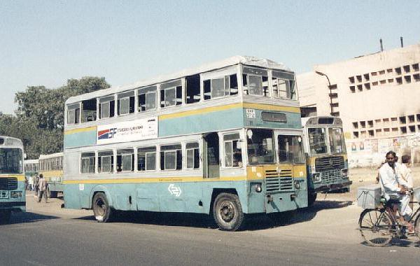 An old DTC Double Decker bus from Delhi (pic not by me)   Flickr