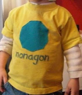 Nonagon H S Favorite Shape Is Now A T Shirt Pass Fail