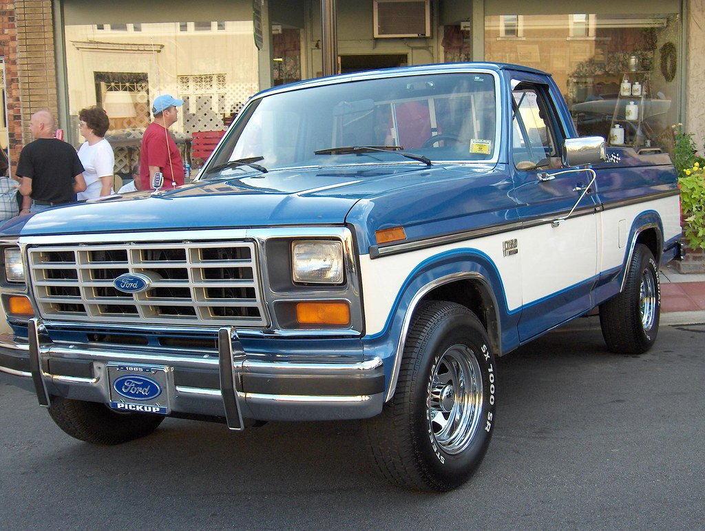 1985 ford f150 truck by v8 power
