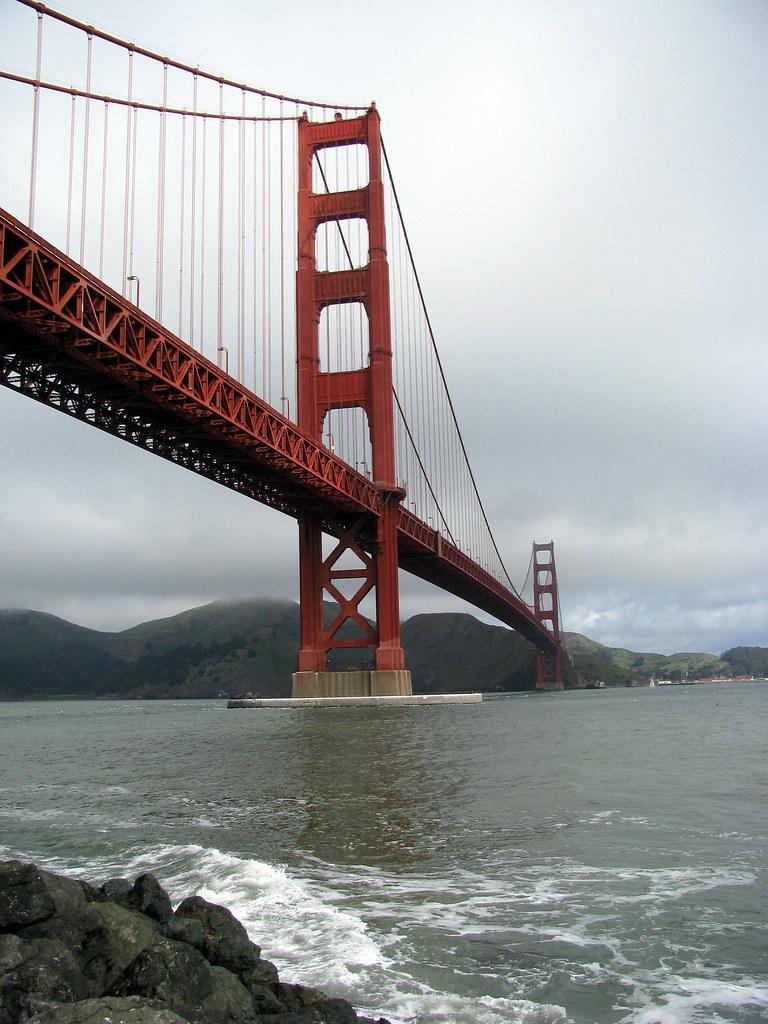 Golden Gate Bridge The Golden Gate Bridge From Fort