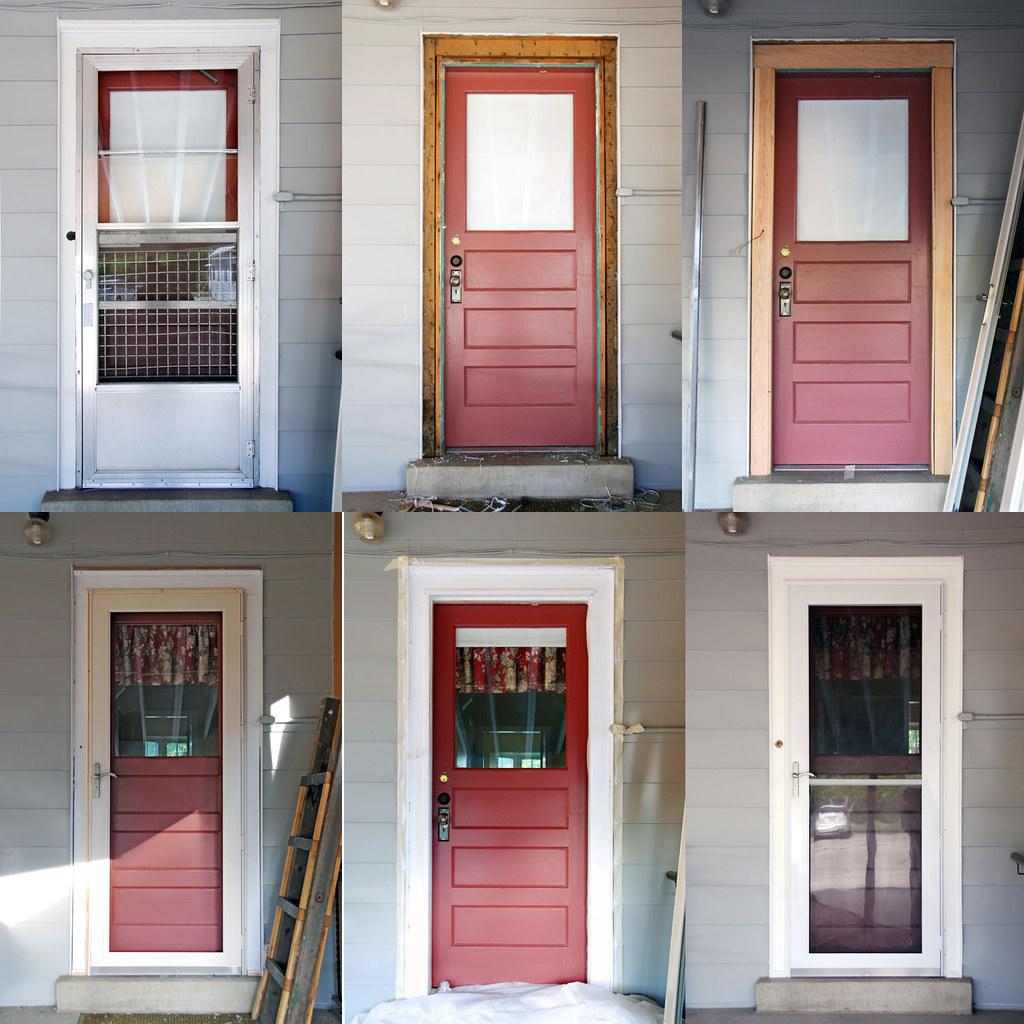 Back Door - Storm Door Replacement Before and After | Flickr