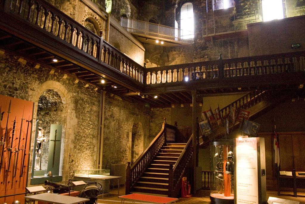 Norwich Castle Keep | Inside The Keep at Norwich Castle ...