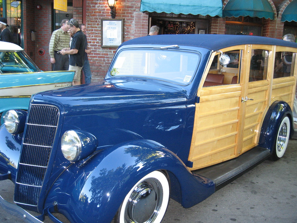 Danville Car Show >> Blue Woody | Hot Summer Nights Car Show, Downtown Danville, … | Flickr