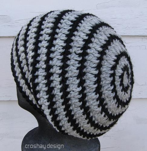 Baggy Beanie Hat Crochet Pattern : baggy beanie A new crocheted slouch hat design! Cascade ...