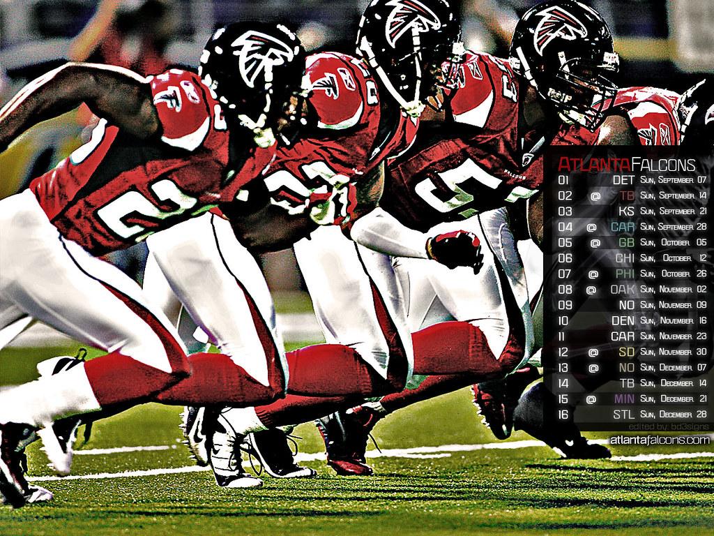Atlanta Falcons Desktop Wallpapers 82 Background Pictures: Atlanta Falcons 2008-2009 Season Wallpaper
