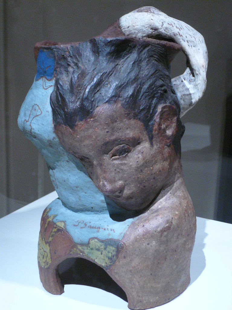 Sculpture By Paul Gauguin A Lyrical Ceramic Piece By