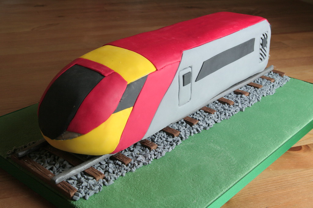 Pendalino Train Cake A 21st Birthday Cake For A Friends