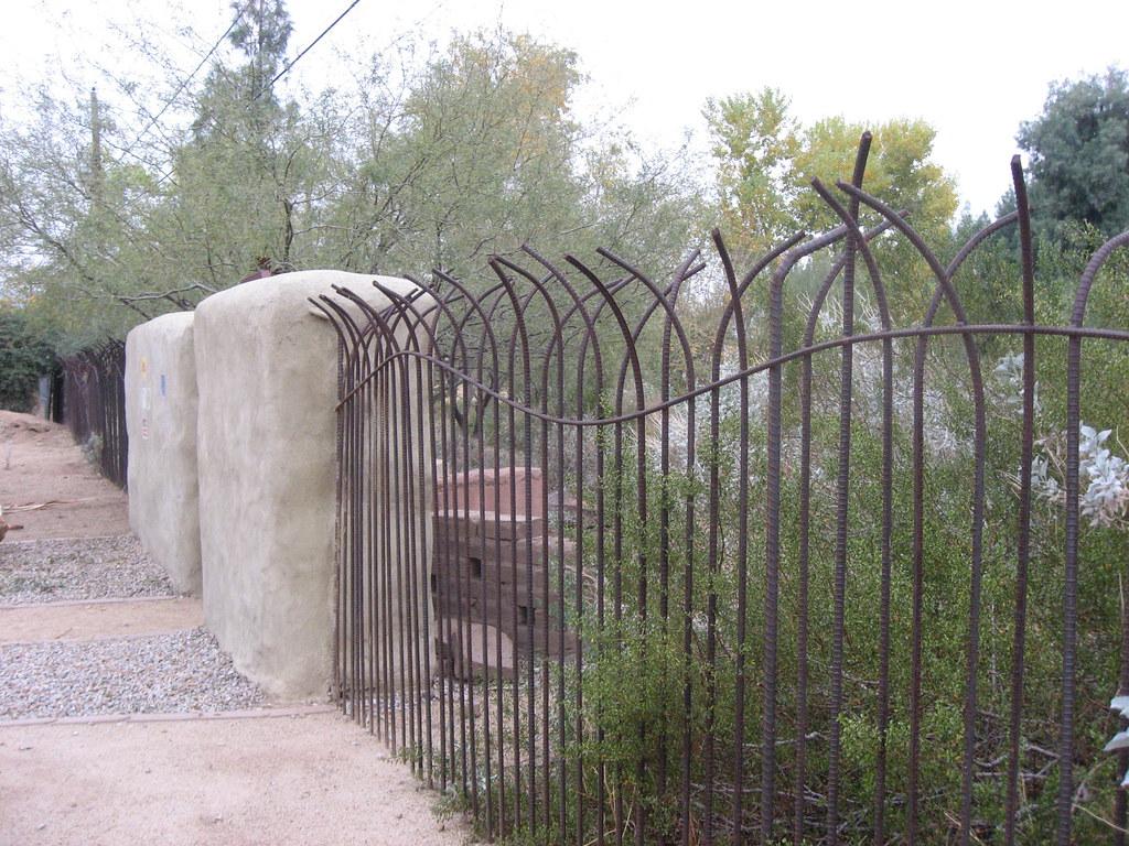Rebar Fence A Nice Piece Of Metalwork Celebrating Curves