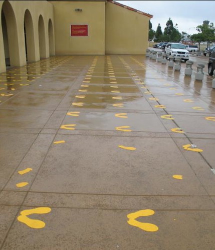 Yellow Footprints | Chris Fisher | Flickr