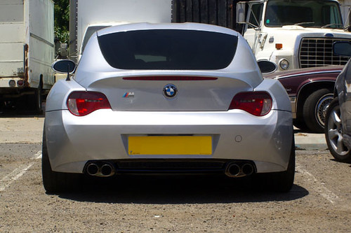 Bmw Z4m Coupe E86 Borrowed This Pic Wrapping The Lower