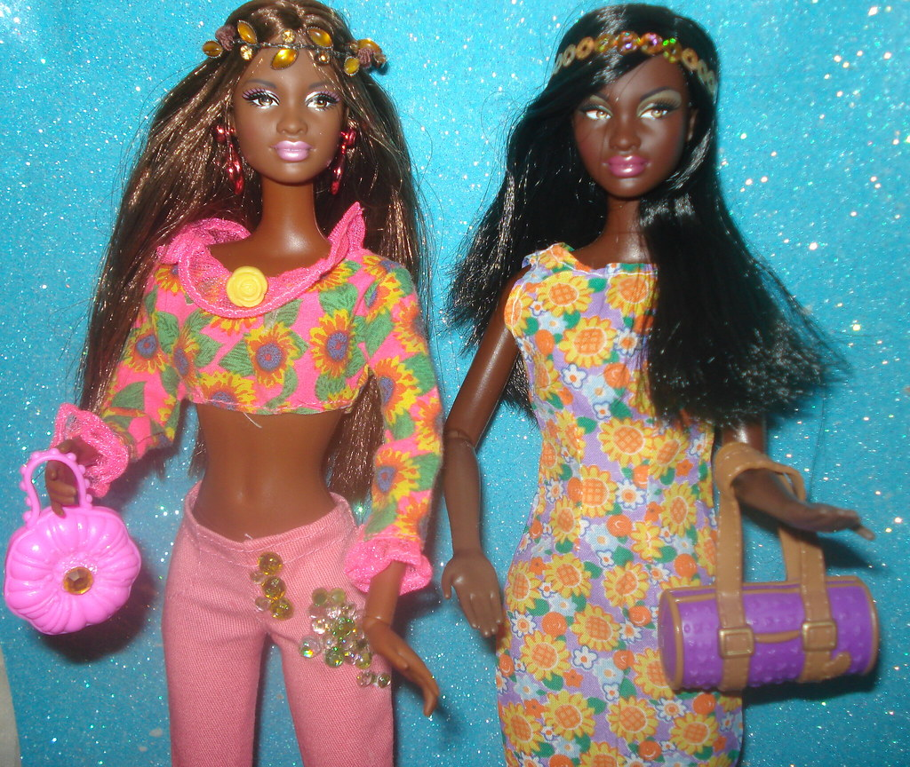 Barbie So In Style Kara , Chandra, Trichelle