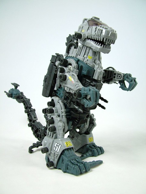 Toys For 4 And Up : Zoidzilla photo of mighty toy taken from tv