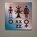 Science Fiction Museum restroom signage, pt. 2
