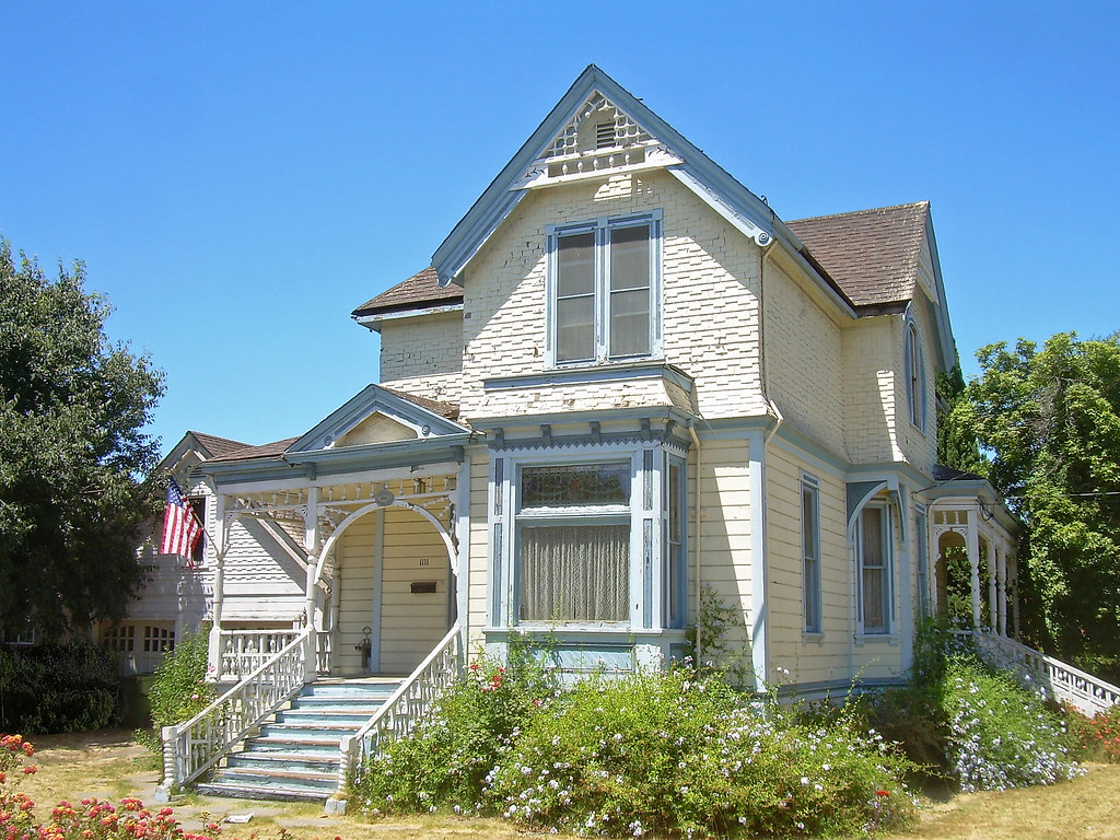 Victorian house santa clara california retouched for Clara house
