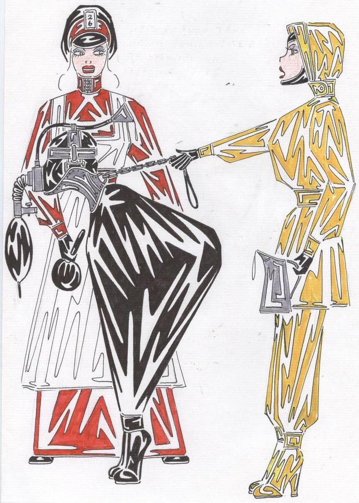 Drawings 016  A Day Uniform  Gerda6969  Flickr-2883
