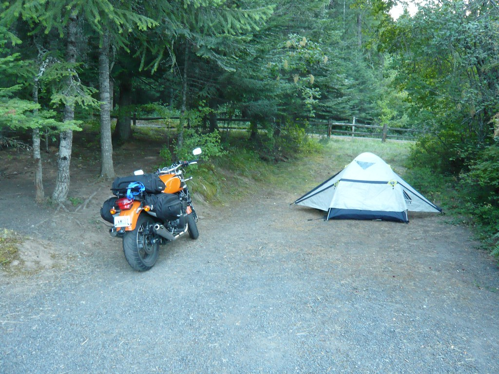 Camp My Digs Dworshak State Park Idaho Dervish